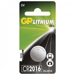 Batéria líthiová, CR2016, 3V, GP, blister, 1-pack B15161