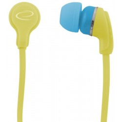 Esperanza EH147Y NEON Stereo slúchadlá do uší, žlté EH147Y - 5901299904930