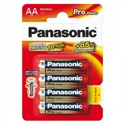 Batéria alkalická, AA, 1.5V, Panasonic, blister, 4-pack, 235999,...
