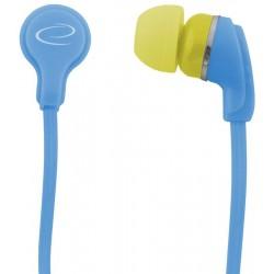 Esperanza EH147T NEON Stereo slúchadlá do uší, tyrkysové EH147T - 5901299904947