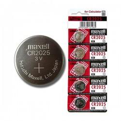 Batéria líthiová, CR2025, 3V, Maxell, blister, 5-pack