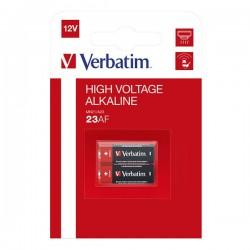 Batéria alkalická, 23AE, MN21, A23, 12V, Verbatim, blister, 2-pack,...