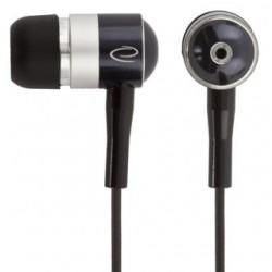Esperanza EH128 Stereo slúchadlá do uší, čierno-strieborné EH128 - 5905784769394
