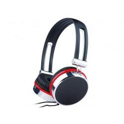 Gembird stereo slúchadlá s mikrofónom a reg. Hlasitosti, čierne / strieborné / č MHS-903
