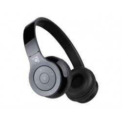 Gembird Bluetooth stereo slúchadlá, mikrofón, čierna farba BHP-BER-BK