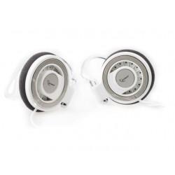 Gembird MP3 stereo slúchadlá, 3.5mm Jack, bielé, CLIP ON, 1.8m MP3A-HS3