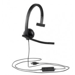 Logitech H570 Slúchadlá USB Mono 981-000571