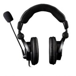 Modecom slúchadlá s mikrofónom MC-826 HUNTER, uzavretá (čierne) S-MC-826-HUNTER