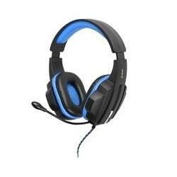 Tracer EXPERT modrý TRS-790M multimediálne slúchadlá s mikrofónom, 2.2m TRASLU45100