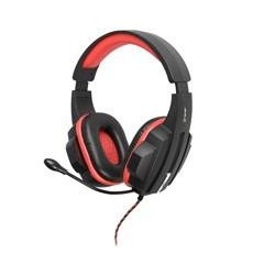 Tracer EXPERT červená multimediálne slúchadlá s mikrofónom, 2.2m TRASLU45098