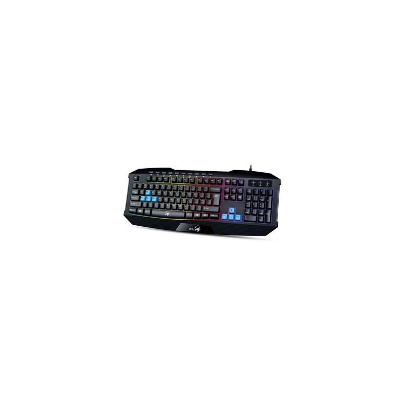 GENIUS Hráčska USB klávesnica KB-215 s podsvietení 31310474106