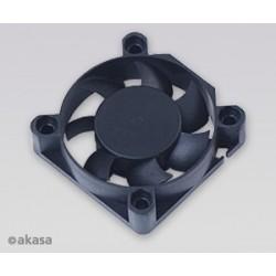ventilátor Akasa - 40x10 mm  - černý AK-4010MS