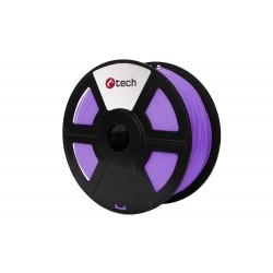 Tisková struna (filament) C-TECH, PLA, 1,75mm, 1kg, fialová...