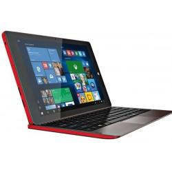 """Prestigio MultiPad Visconte V 10.1""""LCD IPS1280x800 6500mAh CAM2/2Mpx Intel Quad 1.83GHz W10 Home červený PMP1012TERD"""