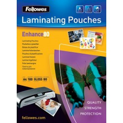 Fellowes laminovací fólie 80 µ, 216x303 mm - A4, 25 ks 5396205