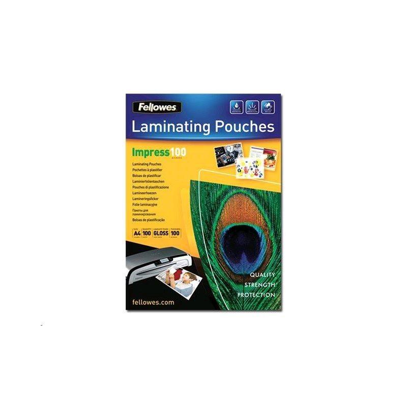Fellowes laminovací fólie 100 µ, 303x426 mm - A3, 100 ks 5351205