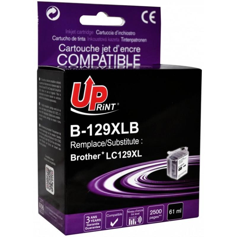 UPrint kompatibil ink s LC-129XLBK, black, 2600str., B-129XLB, pre Brother MFC J6920DW