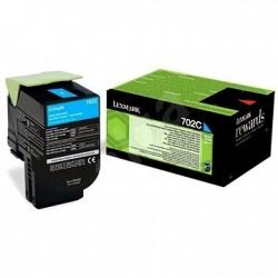Lexmark originál toner 70C20C0, cyan, 1000str., return, Lexmark CS510de, CS410dn, CS310dn, CS310n, CS410n