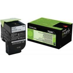 Lexmark originál toner 70C20K0, black, 1000str., return, Lexmark CS510de, CS410dn, CS310dn, CS310n, CS410n