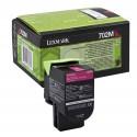 Lexmark originál toner 70C20M0, magenta, 1000str., return, Lexmark CS510de, CS410dn, CS310dn, CS310n, CS410n