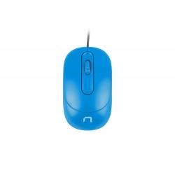 NATEC optická myš VIREO 1000 DPI, modrá NMY-1612