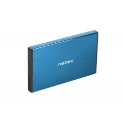 "Externí box pro HDD 2,5"" USB 3.0 Natec Rhino Go, modrý, hliníkové..."