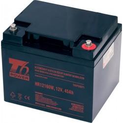 Akumulátor T6 Power HR12160W, 12V, 45Ah, High Rate životnost 10-12...