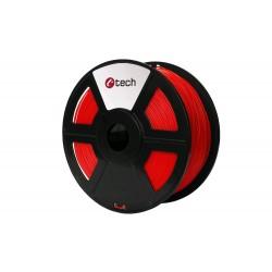 PLA FLUORESCENT RED červená C-TECH, 1,75mm, 1kg 3DF-PLA1.75-FR