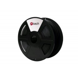 ABS BLACK černá C-TECH, 1,75mm, 1kg 3DF-ABS1.75-BK