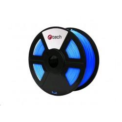 PLA FLUORESCENT BLUE modrá C-TECH, 1,75mm, 1kg 3DF-PLA1.75-FB