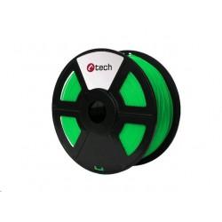 PLA FLUORESCENT GREEN zelená C-TECH, 1,75mm, 1kg 3DF-PLA1.75-FG