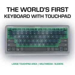 Prestigio Click&Touch, bezdrotova klavesnica s touchpad-om  PSKEY1SGEN