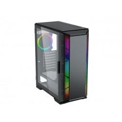 Eurocase MLG Space skrinka Full ATX, 2xUSB3.0, RGB LED, čierna,...