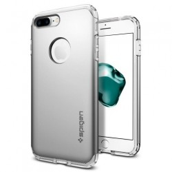 Spigen kryt Hybrid Armor pre iPhone 7 Plus - Satin Silver 043CS20698