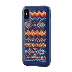 Devia kryt Flower Embroidery Case pre iPhone X/XS - Bohemian...