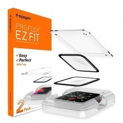 Spigen ochranné sklo Pro Flex pre Apple Watch 4/5/6/SE 44mm - Clear...