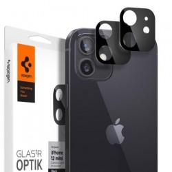 Spigen Optik Lens Protector pre iPhone 12 mini - Black AGL01817