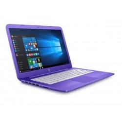 HP Stream 14-ax002nc, Celeron N3060, 14 HD, 4GB, 32GB eMMC, W10, 2y, Violet purple Z3C49EA#BCM