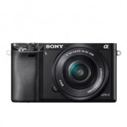 SONY ILCE-6000 Fotoaparát Alfa 6000 s bajonetem E + 16-50mm...