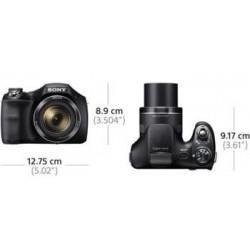 """SONY DSC-H300B 20,1 MP, 35x zoom, 3 """" LCD - BLACK DSCH300B.CE3"""
