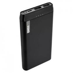 Emos Powerbank ALPHA 10S, 10000 mAh, USB-C, 2.1A, černá 1613052600