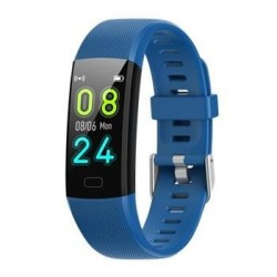Deveroux Fitness náramek MY10 modrý WEAR054