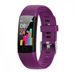 Deveroux Fitness náramek MY10 fialový WEAR056