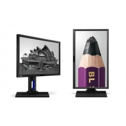 "BenQ BL2420PT 23.8"" IPS LED 2560x1440 20M:1 5ms 300cd HDMI DP DVI Pivot repro cierny 9H.LCWLA.TBE"