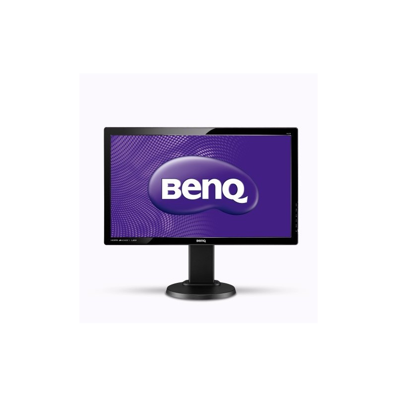"BenQ GL2450HT 24"" LED 1920x1080 12M:1 2ms 250cd HDMI DVI Pivot repro cierny 9H.L7CLA.4BE"