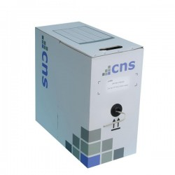 CNS kabel FTP, Cat5E, lanko, PVC, box 305m - šedá KLEXI65804A