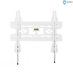 """4W Fixní držák pro LCD 15-43"""" SLIM nosn. 45kg WHT 07464-WHT"""
