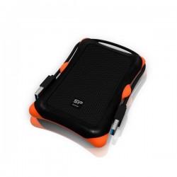 """Silicon Power ARMOR A30 2,5"""" externý HDD 1TB USB 3.0 čierny (odolný voči nárazom) SP010TBPHDA30S3K"""