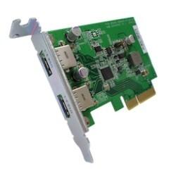 QNAP Dual-port USB 3.1 Type-A Gen USB-U31A2P01