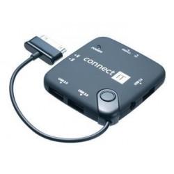 CONNECT IT čítačka kariet a USB HUB pre Samsung Galaxy Tab. SKITCI127